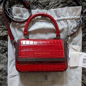 Brunello Cucinelli Leather Bag.